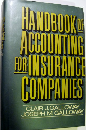 9780070227453: Handbook of Accounting for Insurance Companies