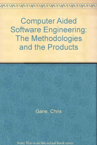 9780070227590: Computer Aided Software Engineering: The Methodologies and the Products