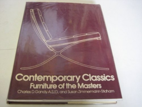 9780070227606: Contemporary Classics: Furniture of the Masters