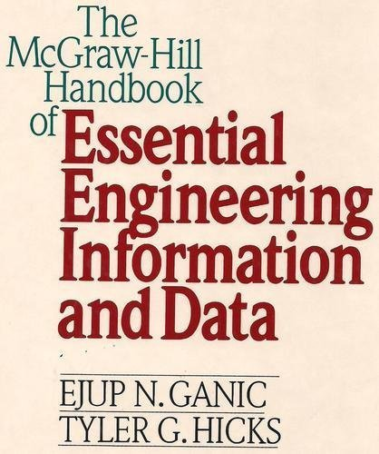 9780070227644: The McGraw-Hill Handbook of Essential Engineering Information and Data