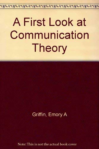 9780070227781: A First Look at Communication Theory