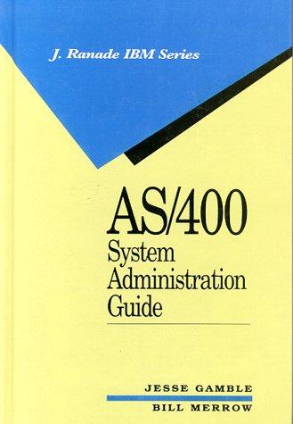 9780070227989: AS/400 System Administration Guide (J.Ranade IBM)