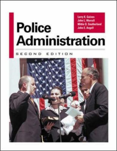 9780070228092: Police Administration