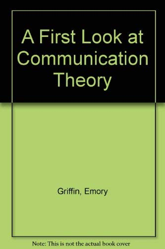9780070228221: A First Look at Communication Theory