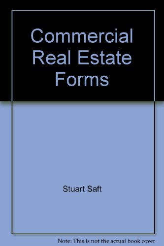 9780070228627: Commercial Real Estate Forms