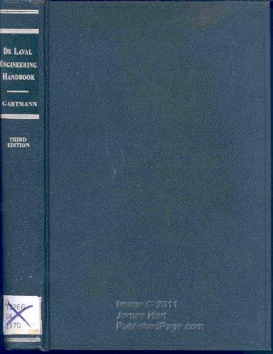 9780070229082: De Laval Engineering Handbook. (McGraw-Hill handbooks)