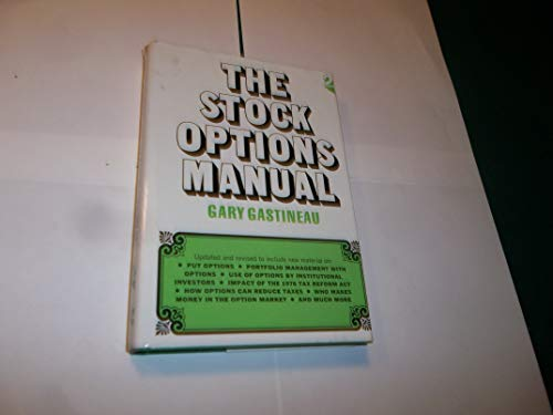 9780070229709: Stock Options Manual