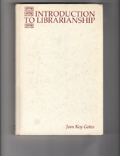 9780070229778: Introduction to Librarianship (McGraw-Hill series in library education)