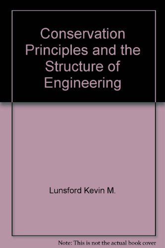 9780070230446: Conservation Principles and the Structure of Engineering