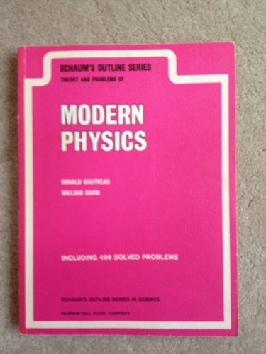 9780070230620: Schaum's Outline of Theory and Problems of Modern Physics