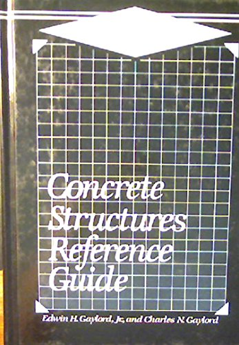 9780070230675: Concrete Structures Reference Guide (Mcgraw-Hill Engineering Reference Guides Series)