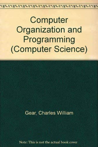 9780070230750: Computer Organization and Programming (Computer Science)