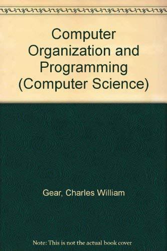9780070230750: Computer Organization and Programming
