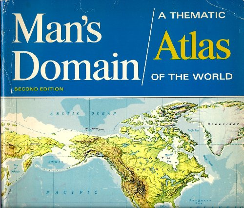 9780070230828: Man's Domain: Thematic Atlas of the World