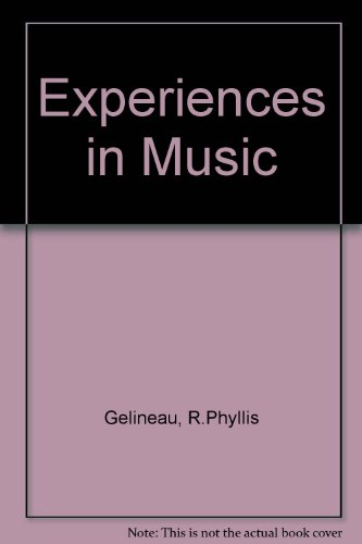 9780070230880: Experiences in Music
