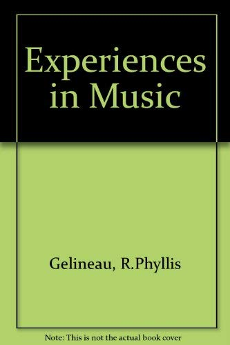 9780070230897: Experiences in Music