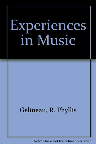9780070230927: Experiences in music