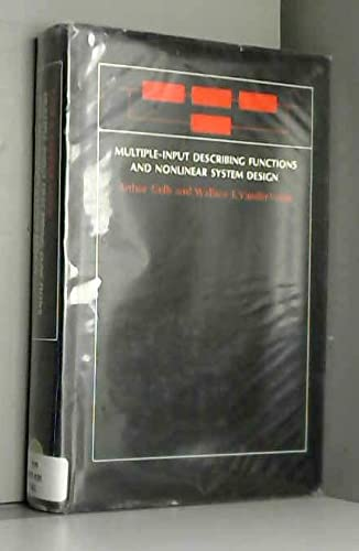 9780070231245: Multiple Input Describing Functions and Nonlinear System Design (McGraw-Hill electronic sciences series)
