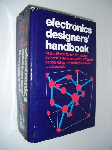 Electronics Designer's Handbook: Giacoletto, L. J.