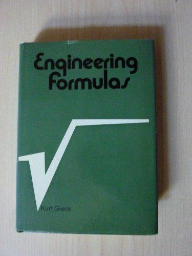 9780070232020: Engineering Formulas