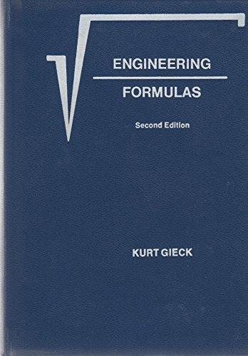 9780070232037: Engineering Formulas: Second Edition