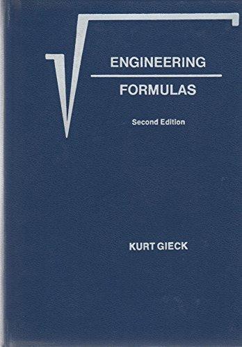 9780070232037: Engineering Formulas: Second Edition