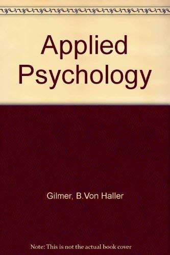 9780070232105: Applied Psychology