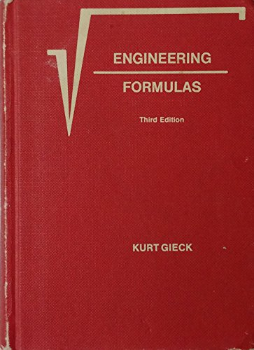 9780070232167: Engineering Formulas
