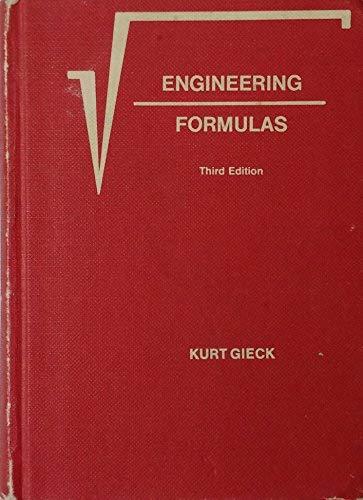 Engineering Formulas: Gieck, Kurt