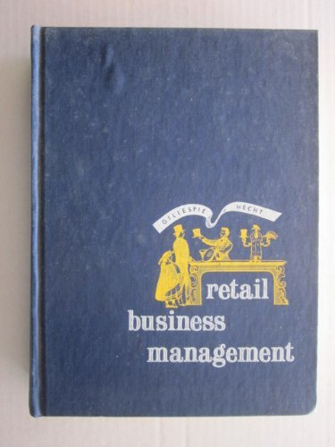 9780070232419: Retail Business Management