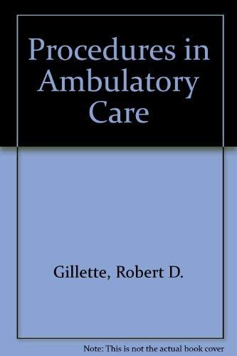 9780070232655: Procedures in Ambulatory Care