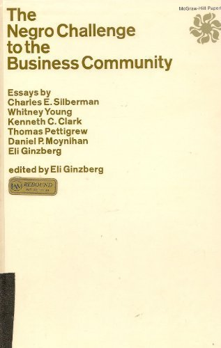 9780070232730: The Negro Challenge to the Business Community