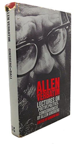 9780070232853: Allen Verbatim: Lectures on Poetry, Politics, Consciousness