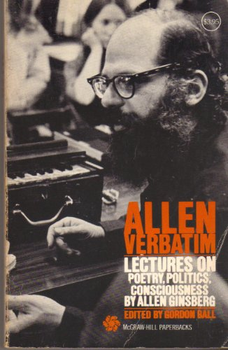 9780070232952: Allen Verbatim: Lectures on Poetry, Politics, Consciousness