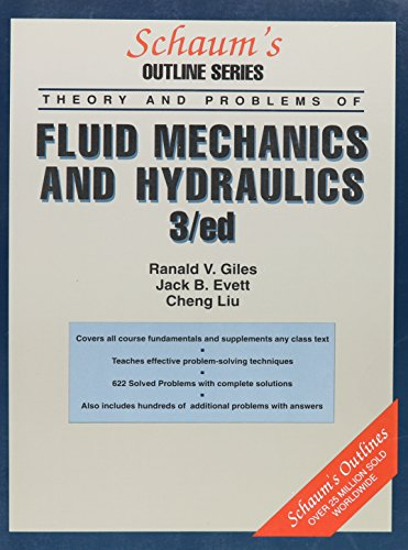 9780070233164: Schaum's Outline of Fluid Mechanics and Hydraulics (Schaum's Outline Series)