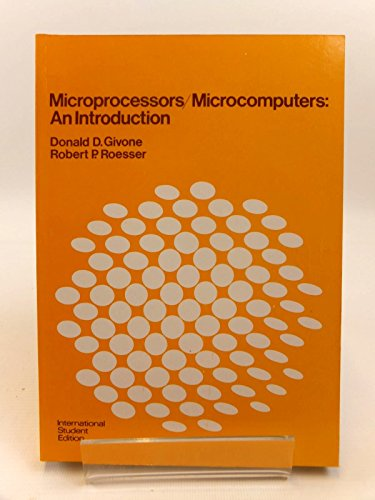 9780070233263: Microprocessors/Microcomputers: An Introduction (McGraw-Hill series in electrical engineering)
