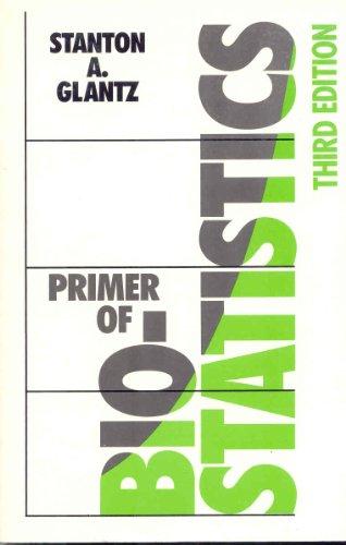 9780070235113: Primer of Biostatistics