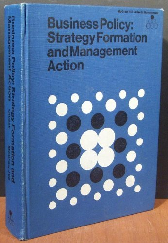 9780070235120: Business Policy: Strategy Formation and Executive Action (McGraw-Hill series in management)