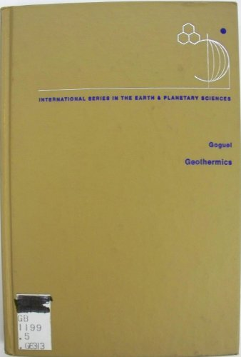 9780070235182: Geothermics (Earth & Planetary Science)