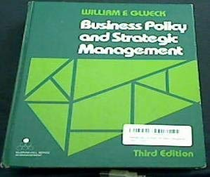 9780070235199: Business Policy and Strategic Management (Mcgraw-Hill Series in Management)