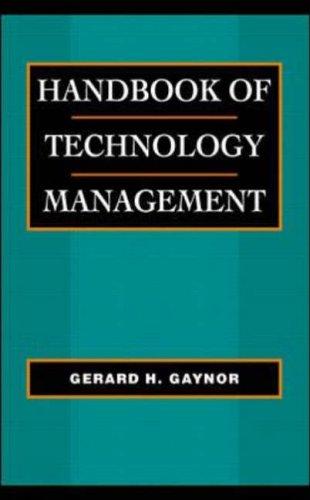 9780070236196: Handbook of Technology Management
