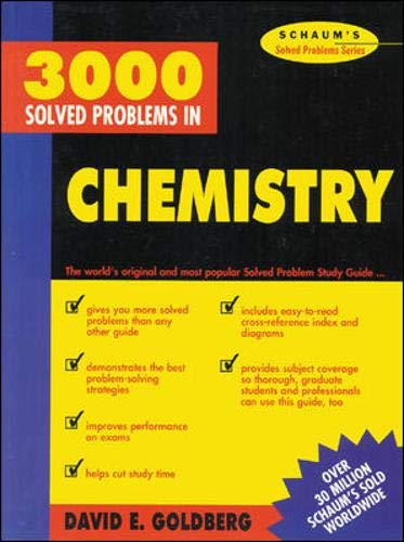 9780070236844: 3,000 Solved Problems In Chemistry (Schaum's Solved Problems Series)