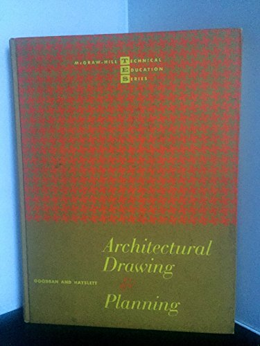 9780070237513: Architectural Drawing and Planning