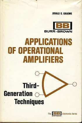 9780070238909: Applications of Operational Amplifiers: Third Generation Techniques (The BB electronics series)