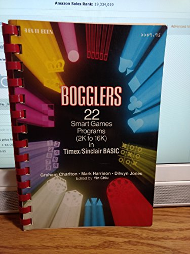 9780070239593: Bogglers: 22 Smart Games Programs (2k to 16k in Timex/Sinclair Basic)
