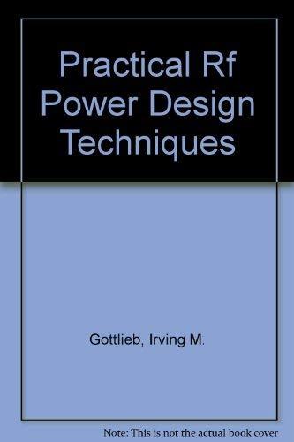 9780070239869: Practical Rf Power Design Techniques