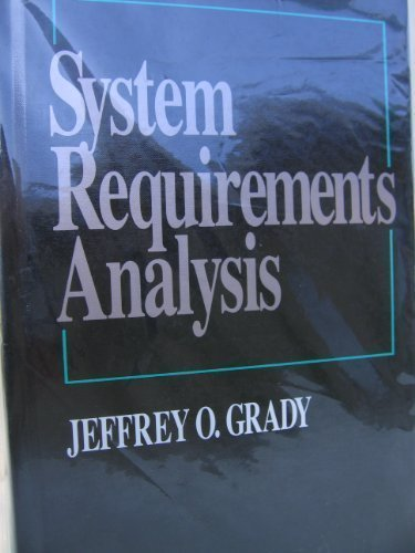 9780070239944: System Requirements Analysis