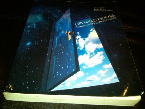 9780070240049: Opening Doors: Understanding College Reading