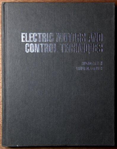 9780070240117: Electric Motors & Control Techniques
