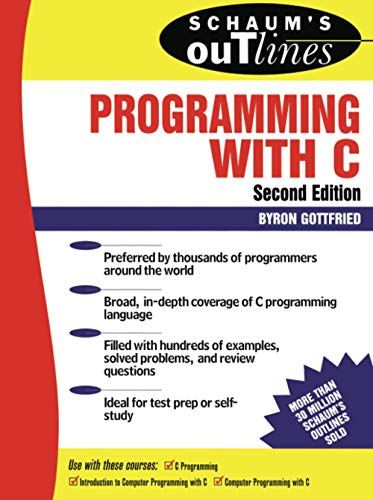 9780070240353: Schaum's Outline of Programming with C